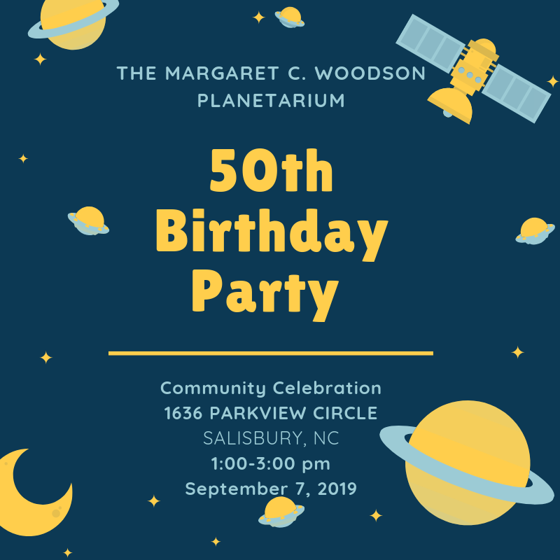 50th Birthday of Margaret C. Woodson Planetarium
