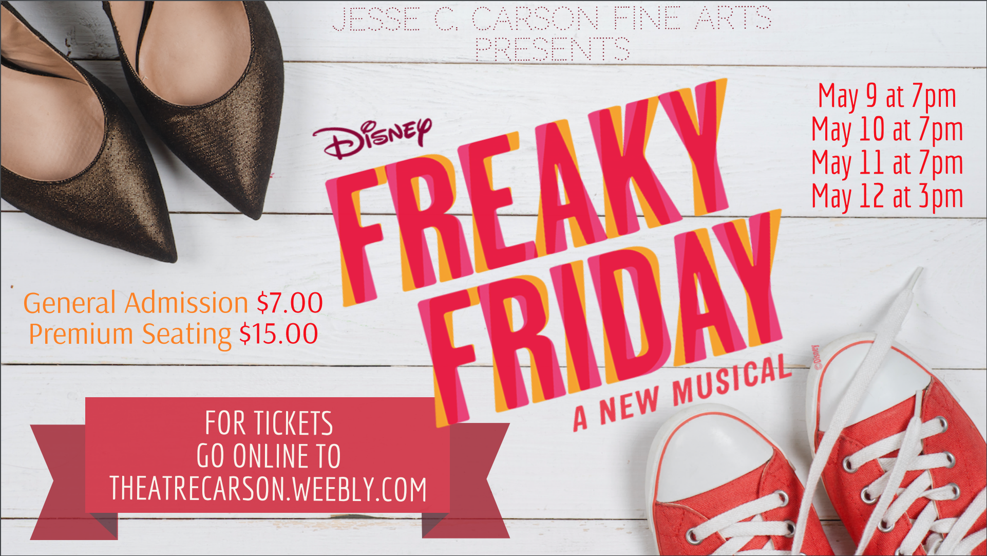 Freaky Friday Musical Ad