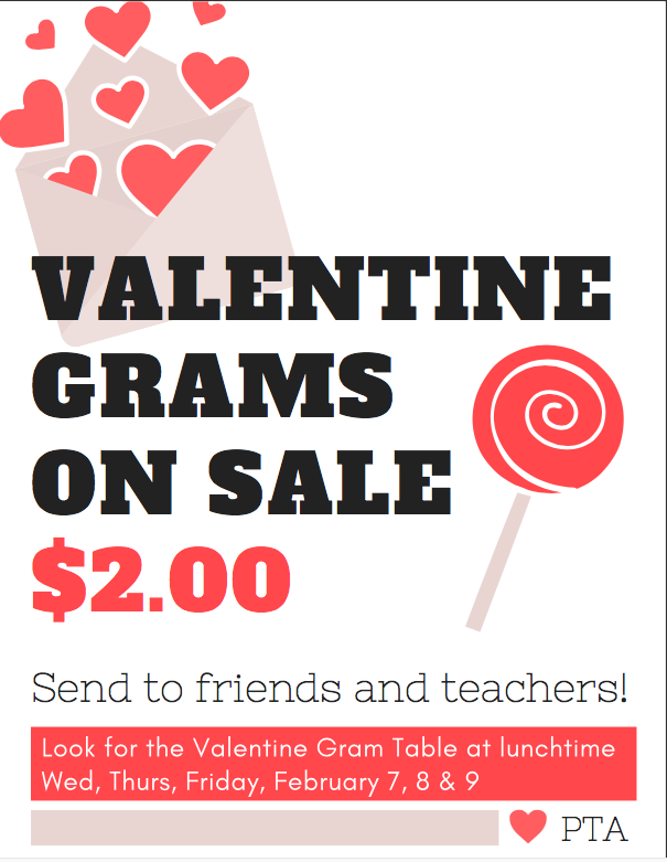 Valentine Grams on Sale