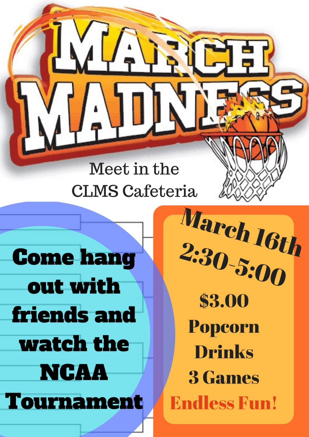 Join us to Watch the NCAA Tournament