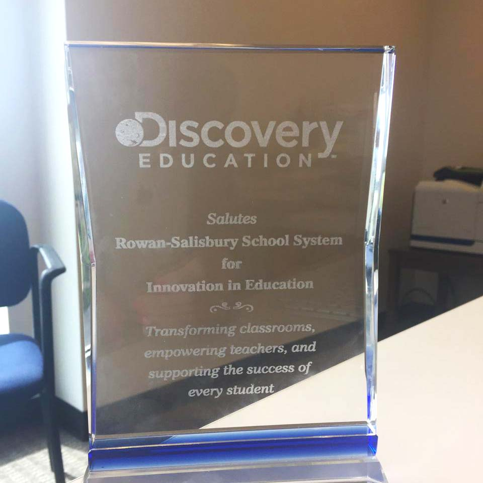 RSS Receives Discovery Education Innovation Award