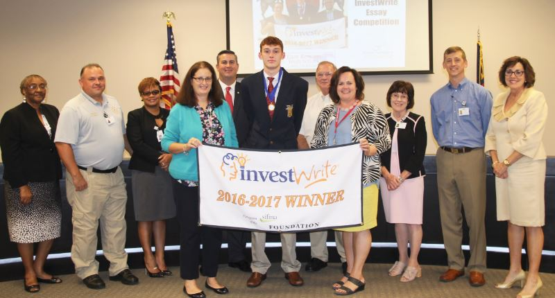 ERHS Student Tyler Johnson Honored