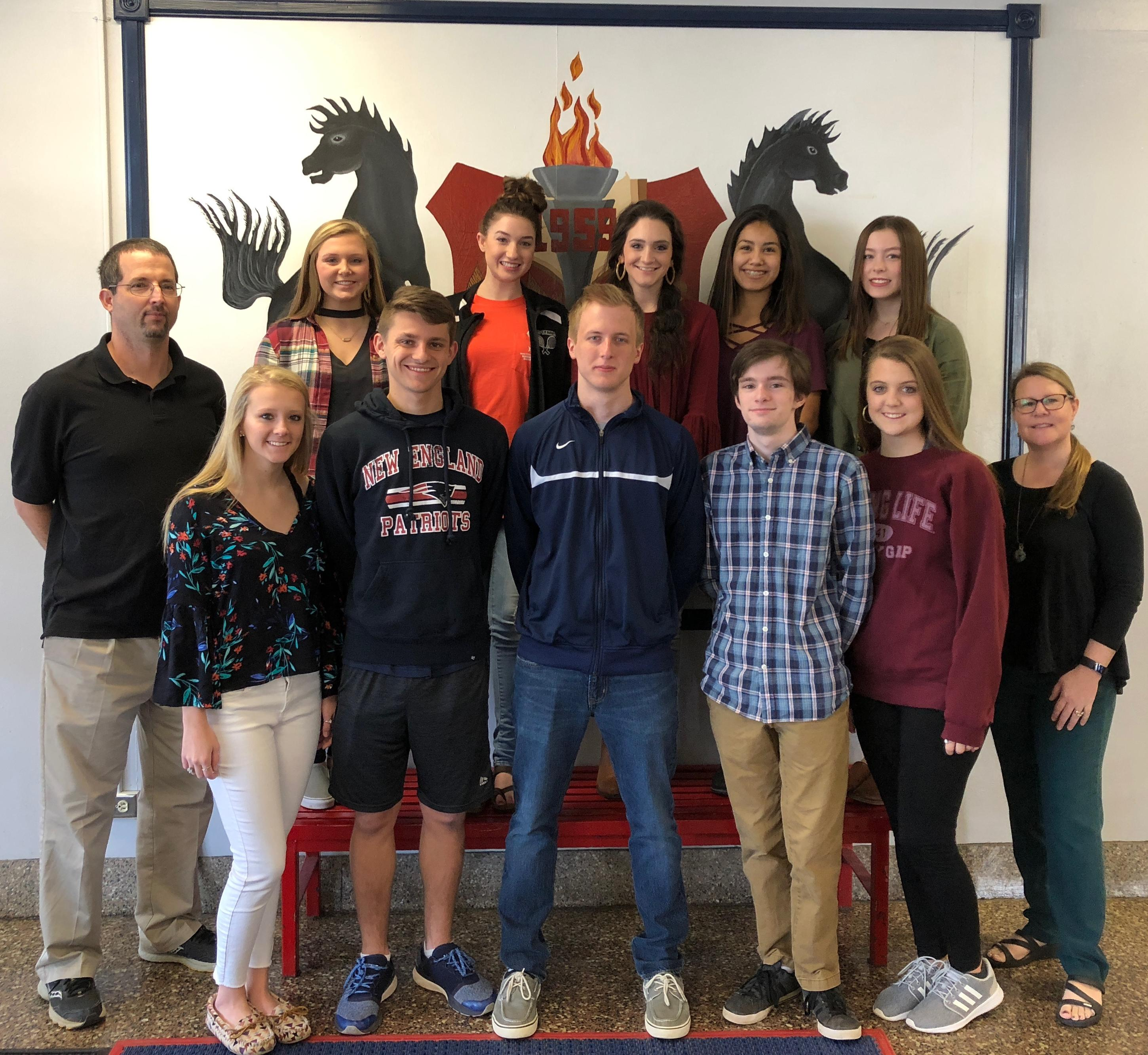 2018 ERHS Junior Marshals