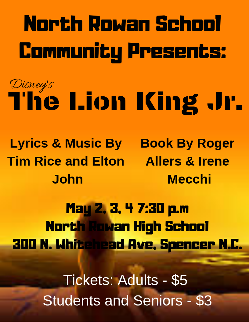 NRHS presents Disney's The Lion King Jr.