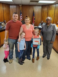 K-1st grade Student of the Month - March