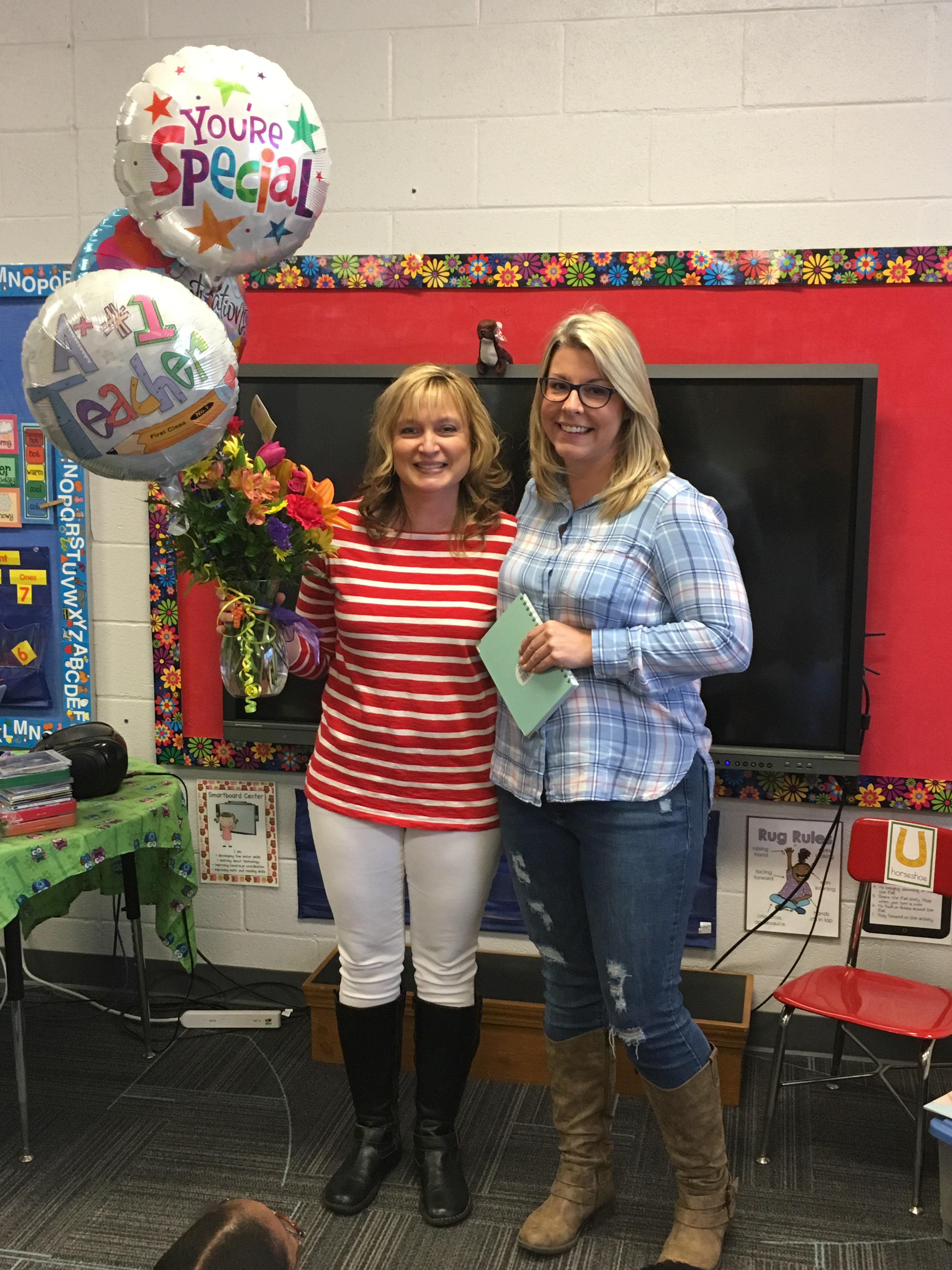 Mrs. Griffin - HDES 2019 Teacher of the Year