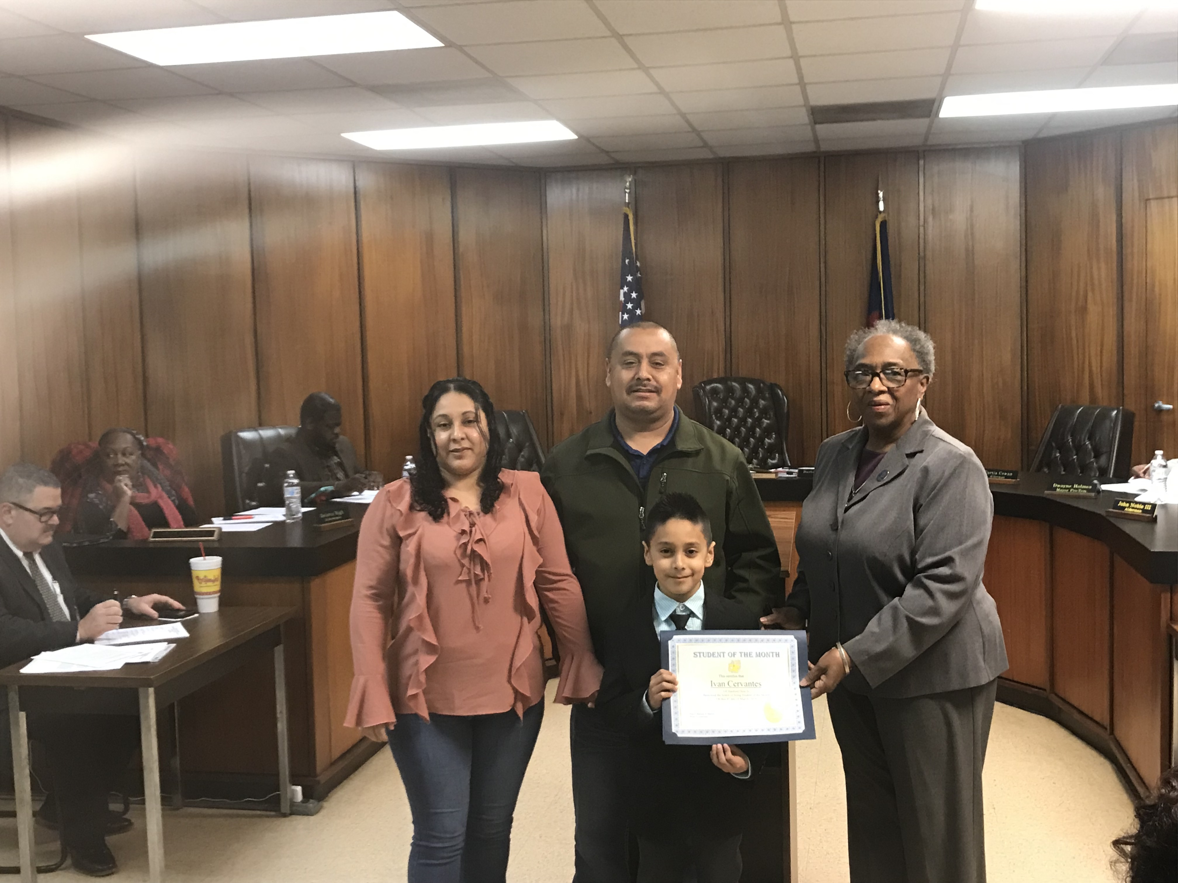 3-4 Student of the Month for March - Ivan