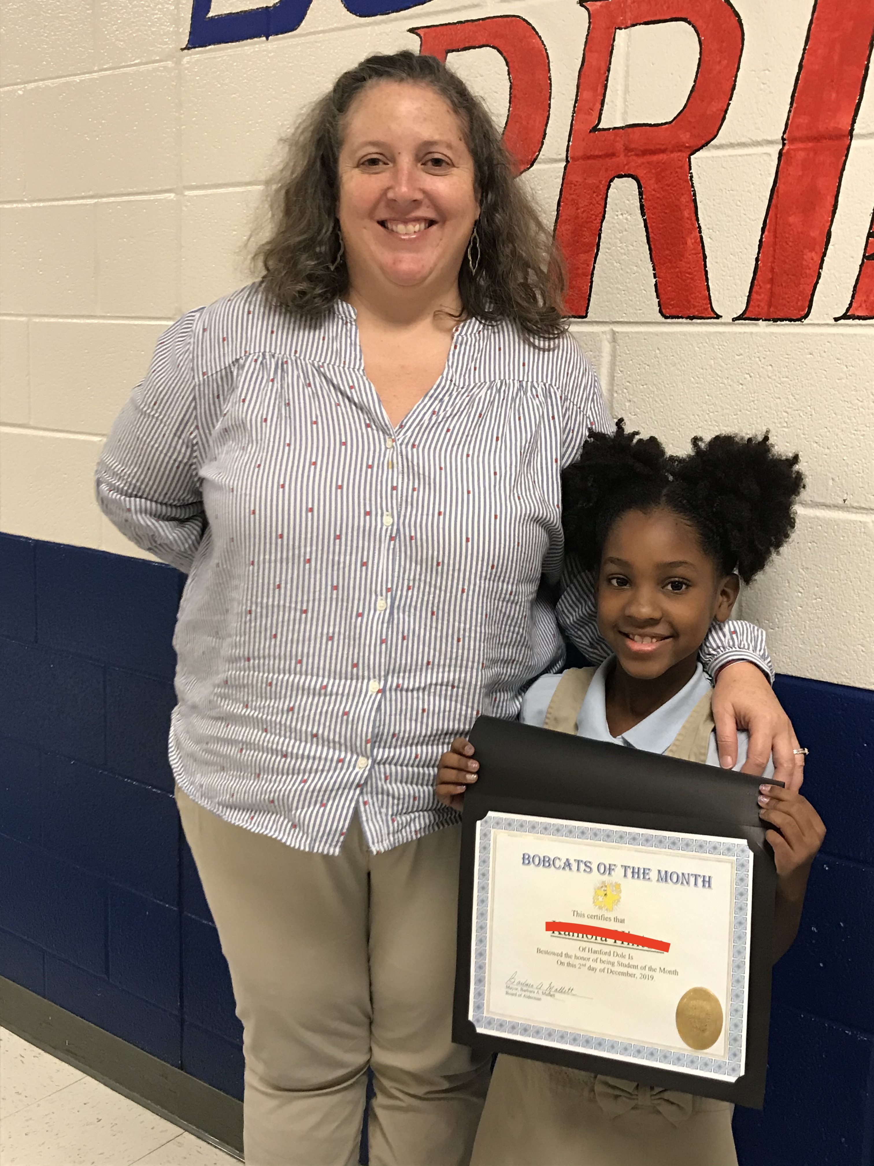 2-3 Student of the Month - December