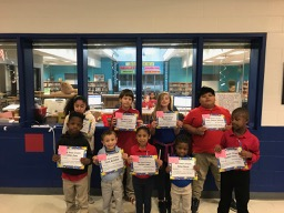 Bus and Car Rider Good Citizens Week of 10/21/19