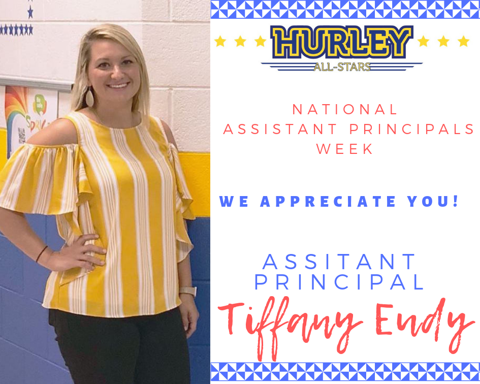 Happy Assistant Principal's Week Mrs. Eudy