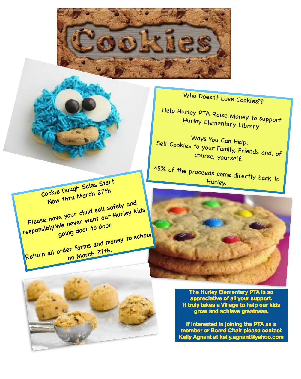 Hurley Fundraiser: Cookie Sales