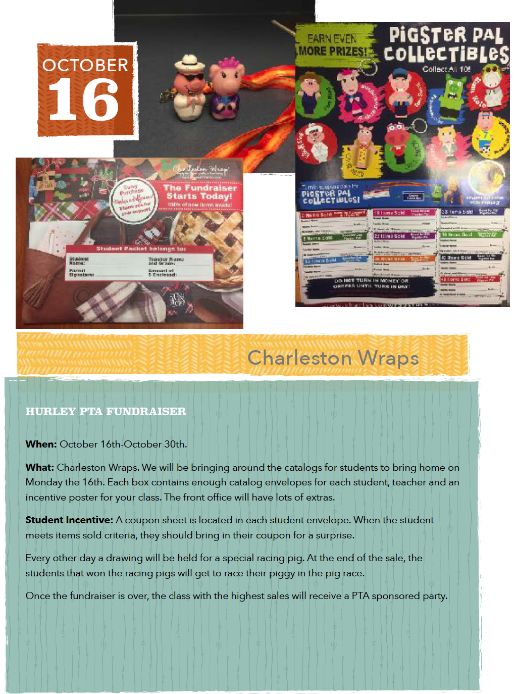 Charleston Wraps Fundraiser