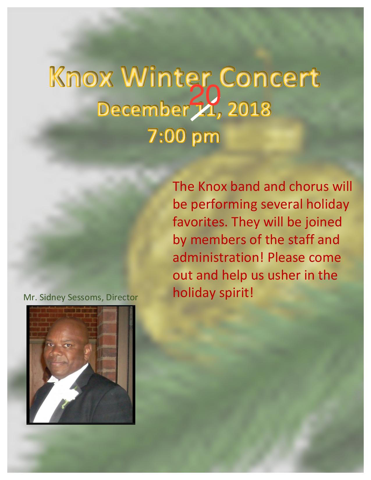 Knox Winter Concert