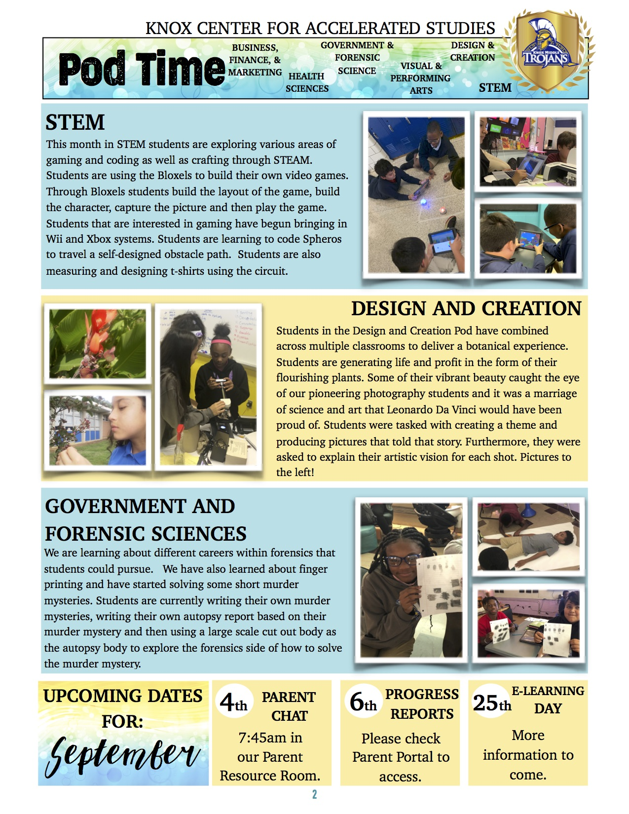 August Newsletter - Page 2