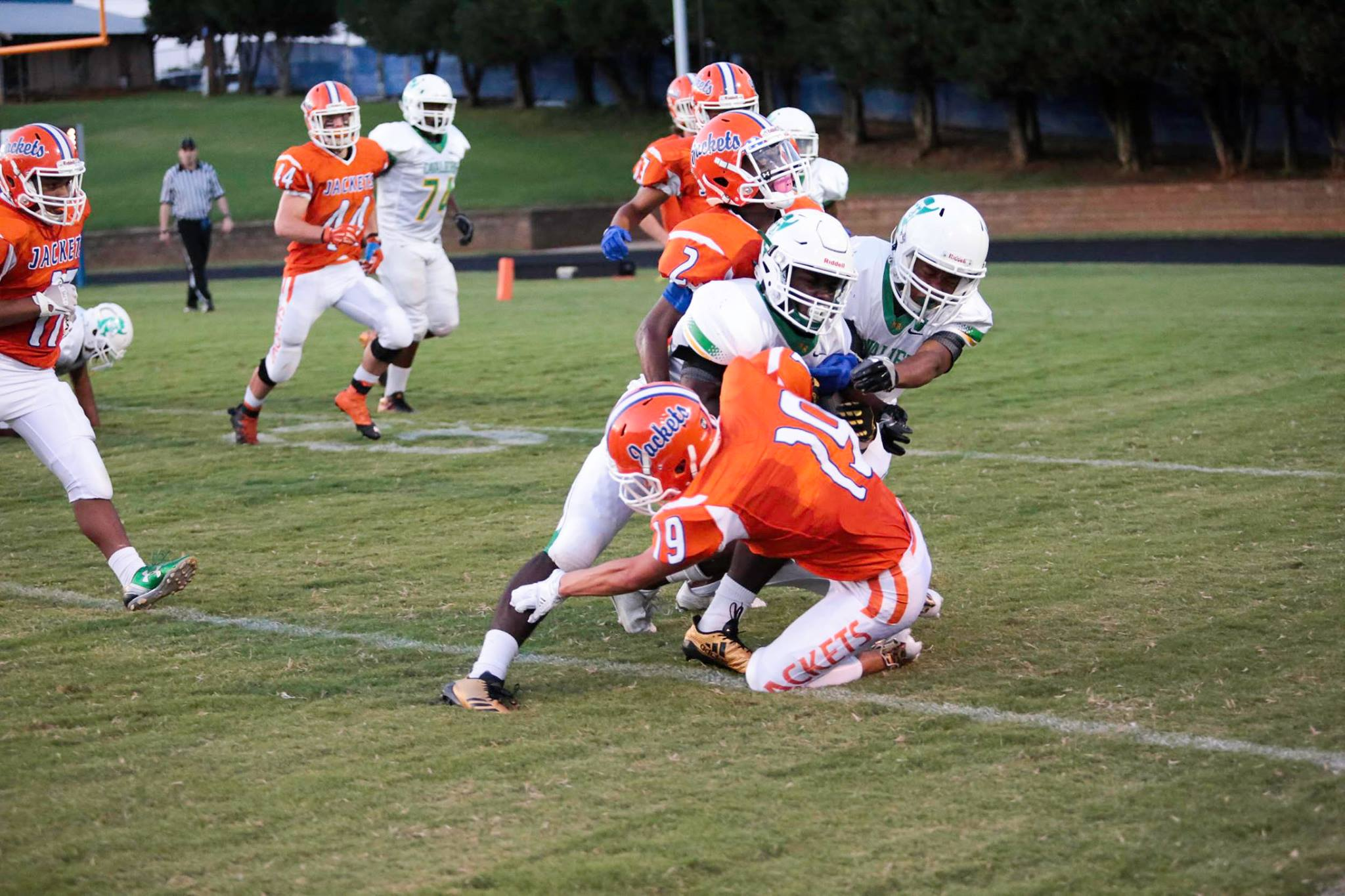 North Rowan Varsity Football 54-7 over North Moore