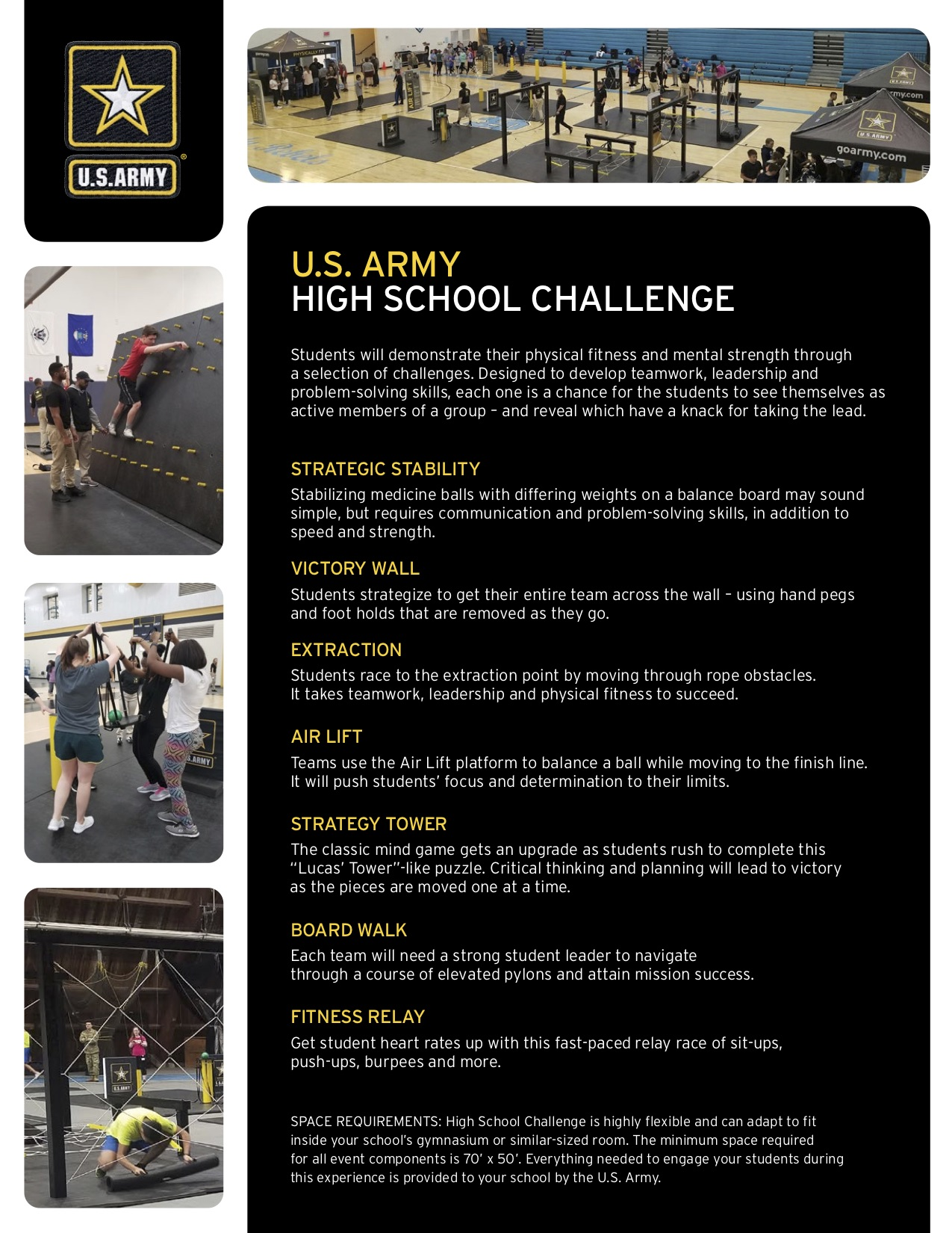 NRHS hosts the U.S. Army High School Challenge
