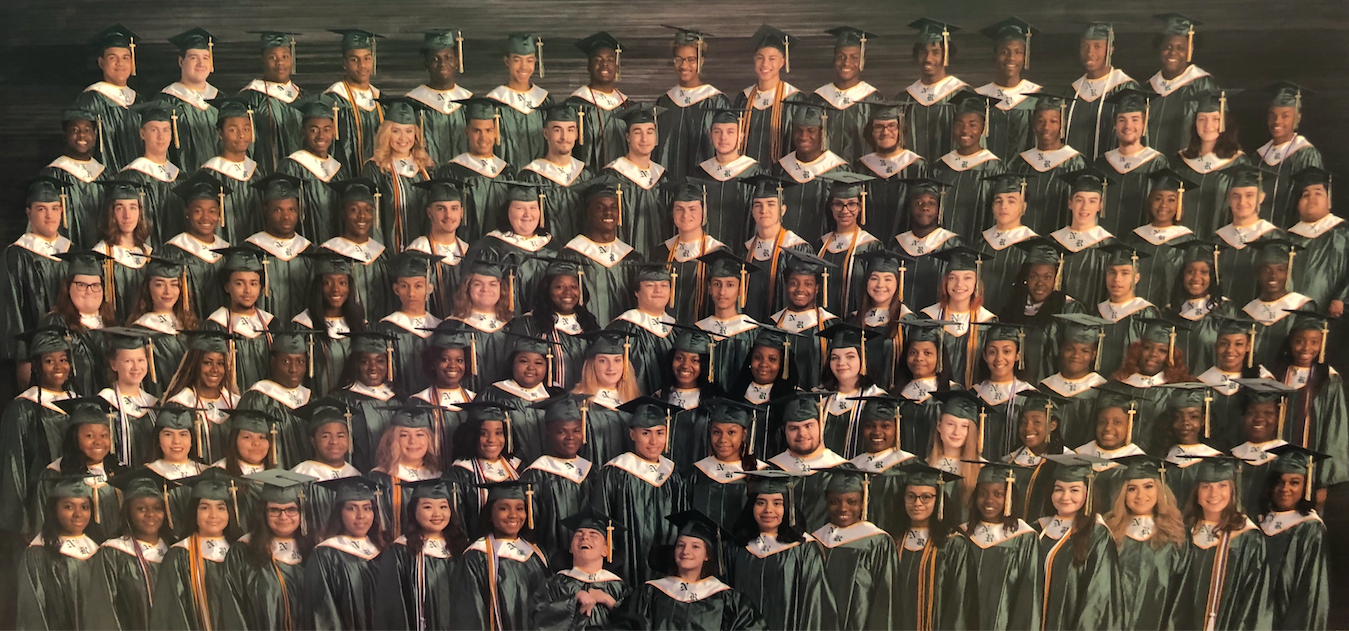 NRHS 2019 Graduation:  Three Valedictorians