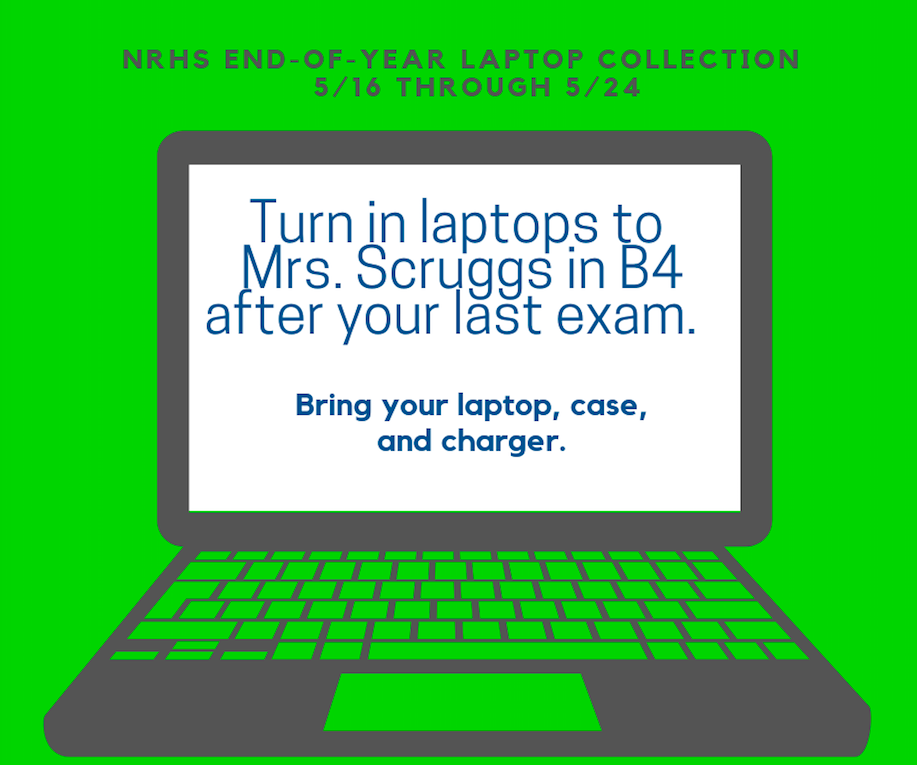 NRHS End-of-Year Laptop Collection