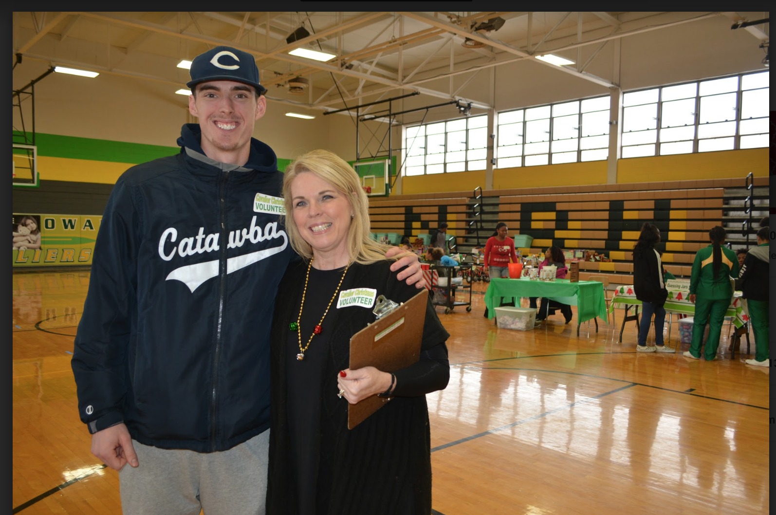 A great day:  North Rowan community comes together for Cavalier Christmas