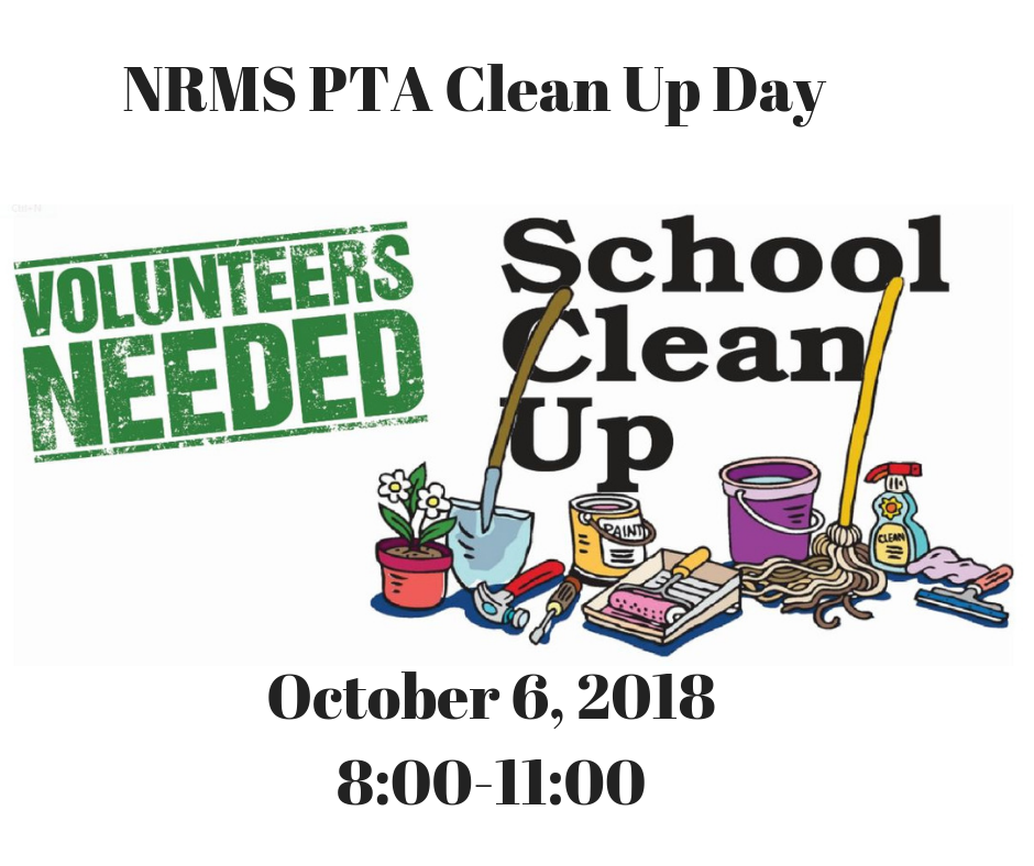 NRMS PTA Clean Up Day