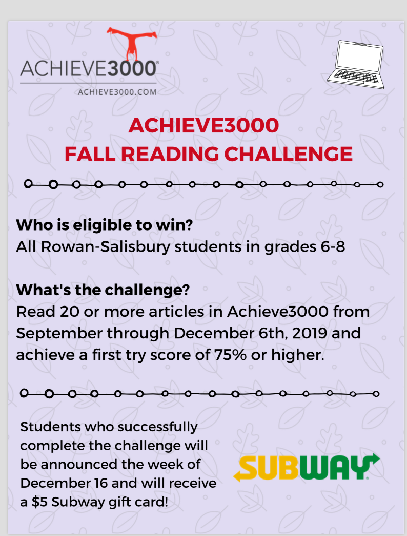 Achieve3000 competition
