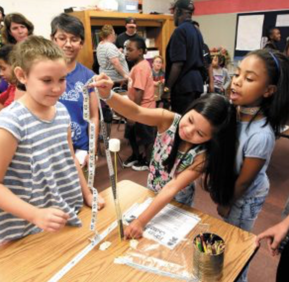 Fun learning: STEM stacks up for Overton Elementary School students