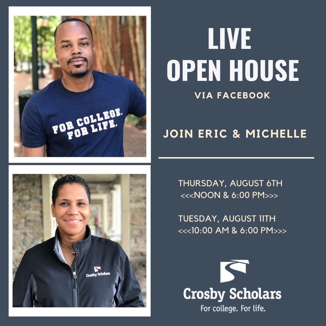 Crosby Scholars Virtual Open House