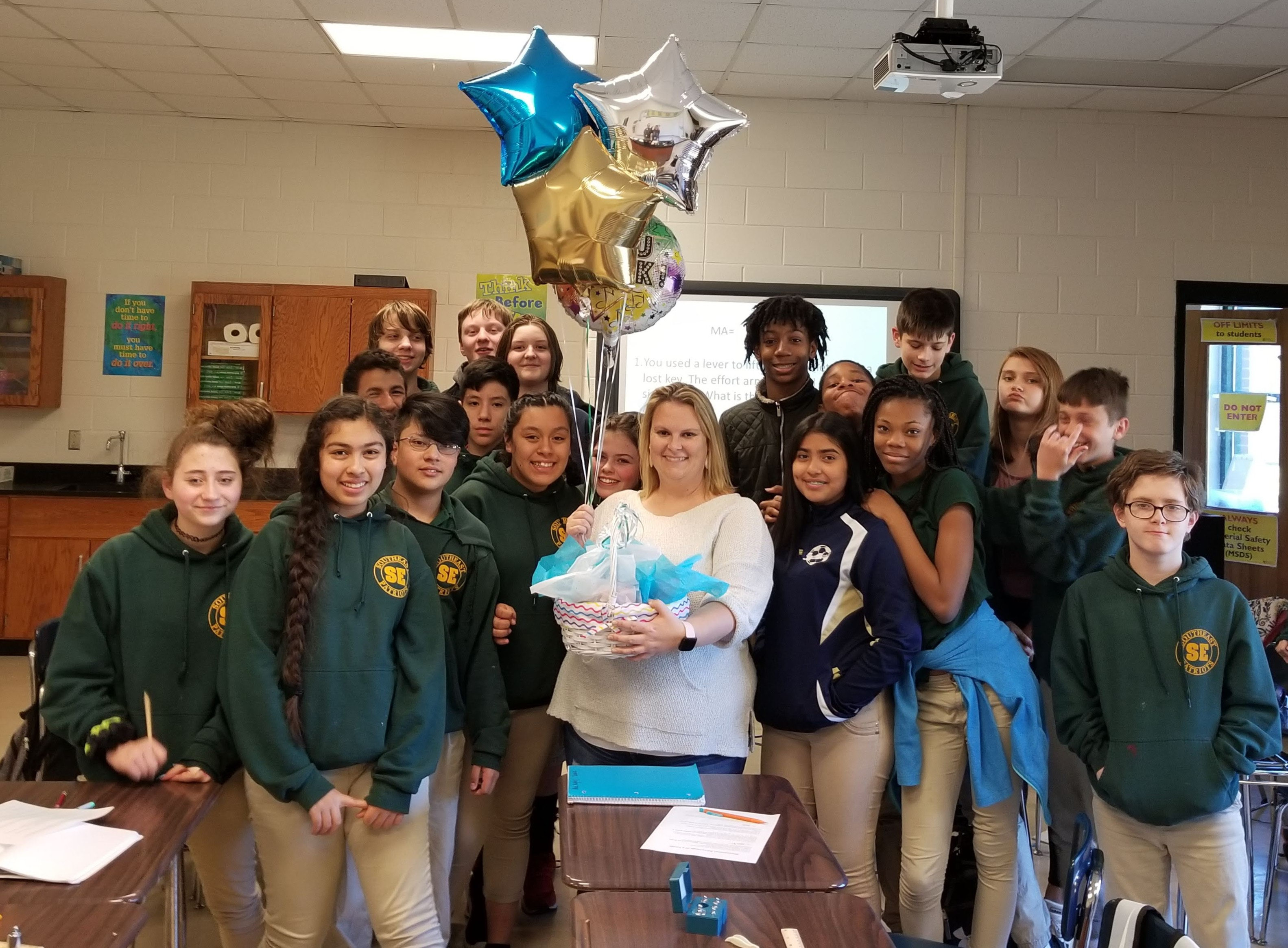 2019-20 Teacher of the Year-Jenna Bernard