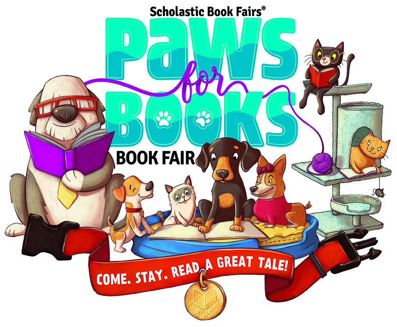 """Paws for Books"" Book Fair Begins January 29"
