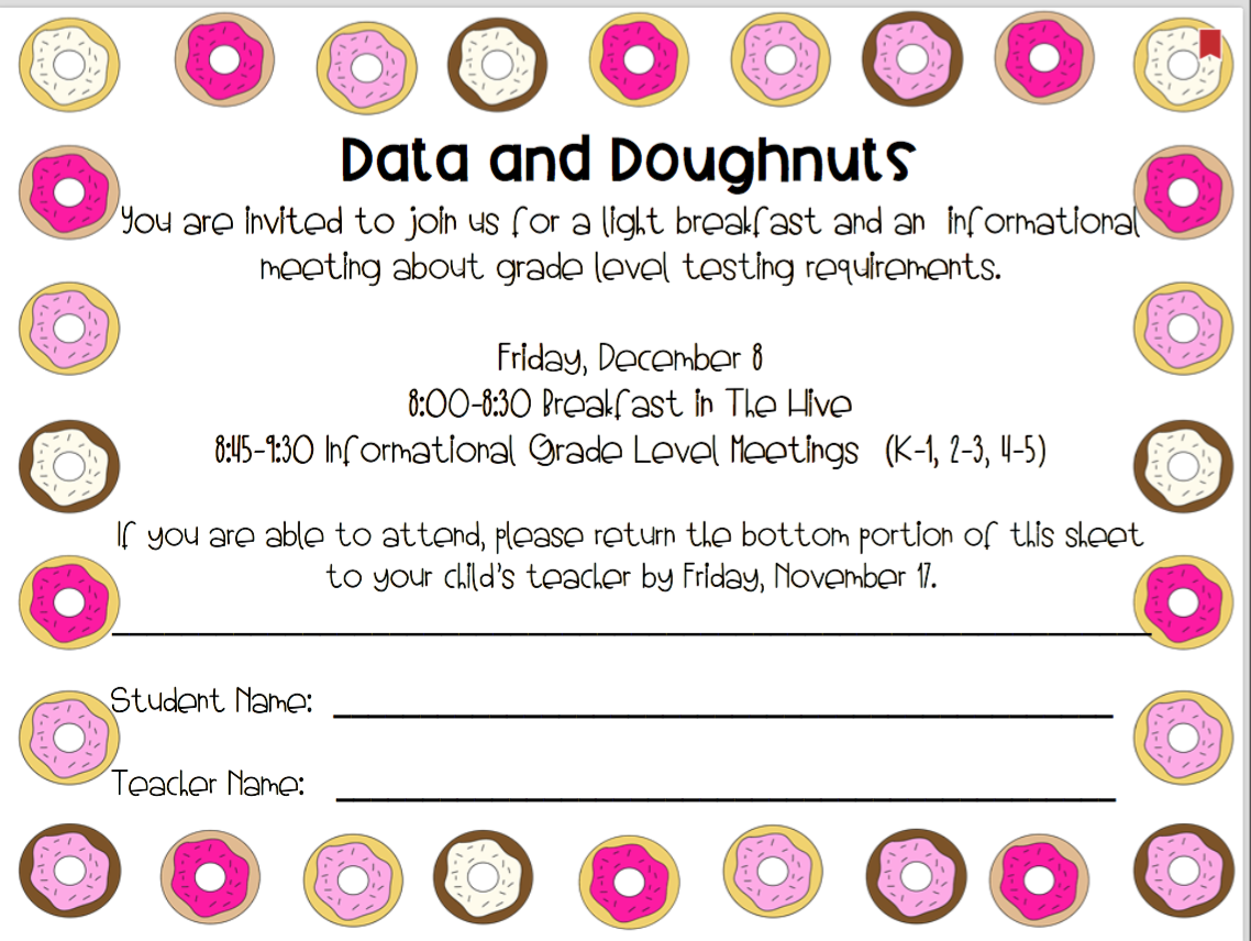 Data and Doughnuts