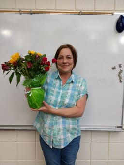 Shive Elementary Teacher Assistant of the Year